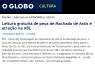 Leitura gratuita de peça de Machado de Assis é atração na ABL