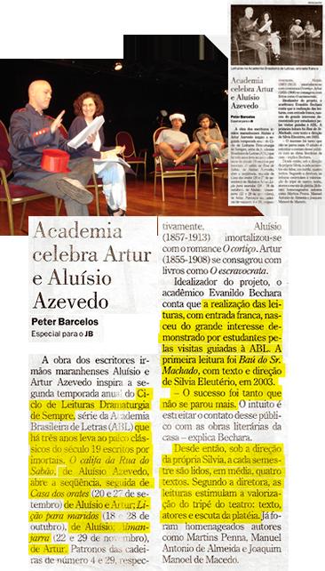 Academia celebra Artur e Aluísio Azevedo