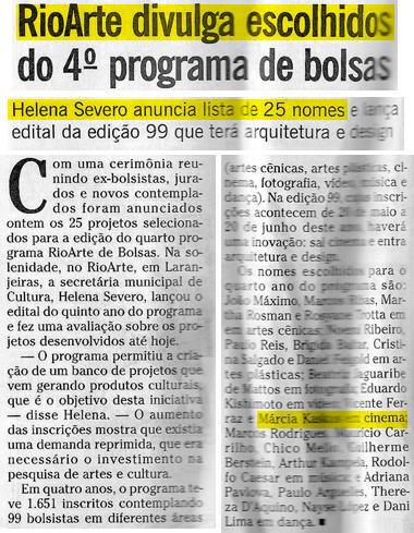 Bolsa RioArte