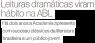 Estadão - Leituras dramáticas viram hábito na ABL